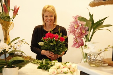 Esther Byrne - Owner Embassy Florist
