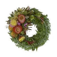 Indigenous Flower Wreath