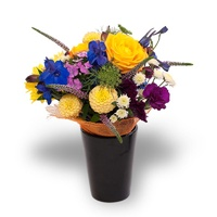 Pretty Posy Pot - Bright!