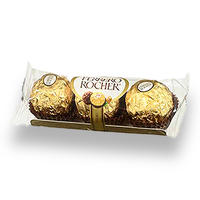 Ferrero Rocher Chocolates (37.5g) (Must be selected on View Cart Page)